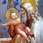 Giotto, presentazione di Gesù al Tempio particolare